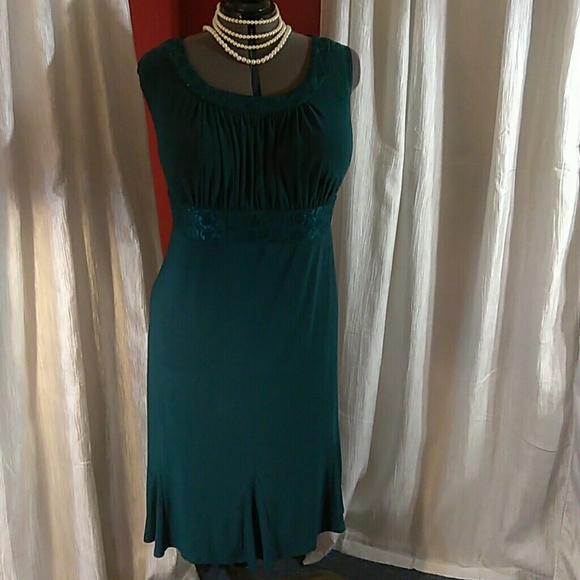 effd026110 Catherines Dresses   Skirts - Rich teal color dress by Catherine s